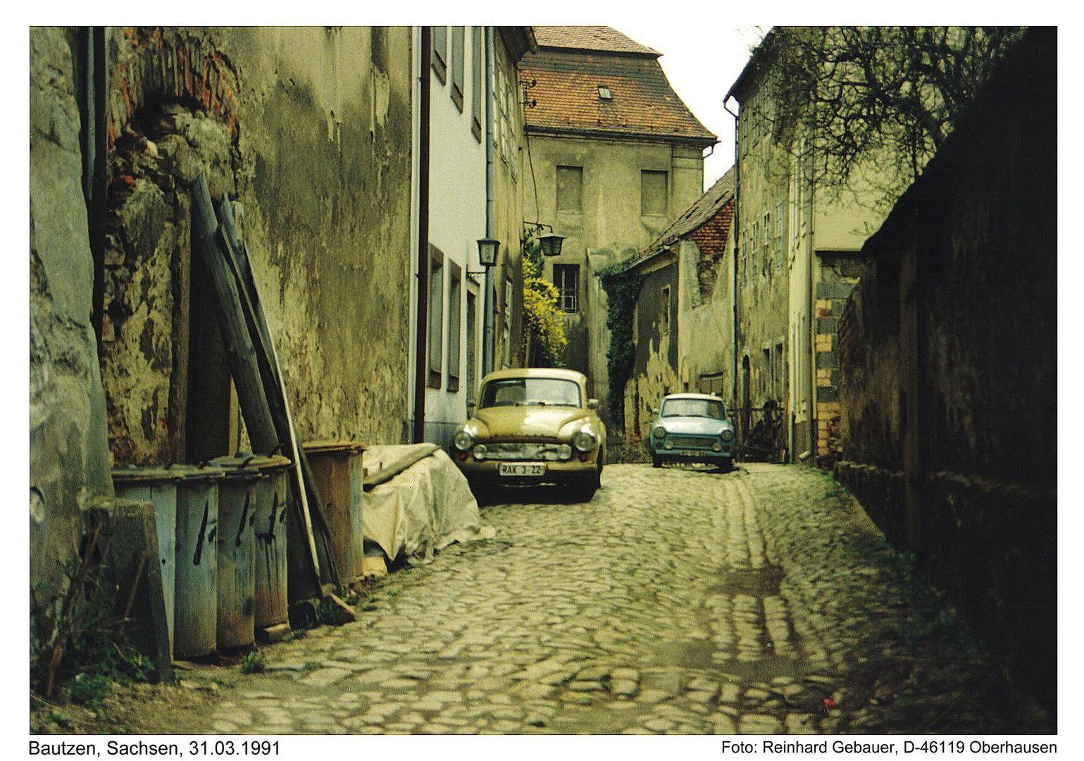 Bautzen, Oberlausitz, Sachsen, 1991