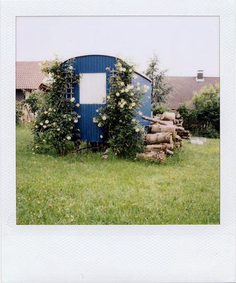 Bauwagen-Idylle