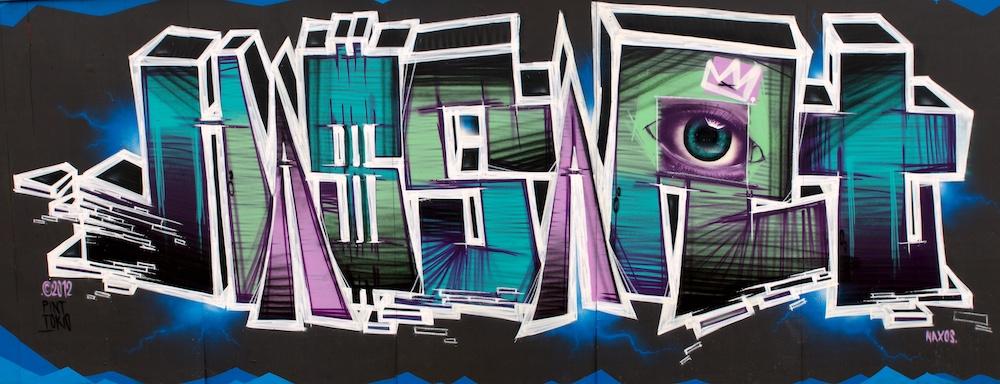 Bauzaungraffiti #12