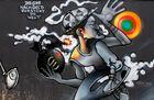 Bauzaungraffiti #8