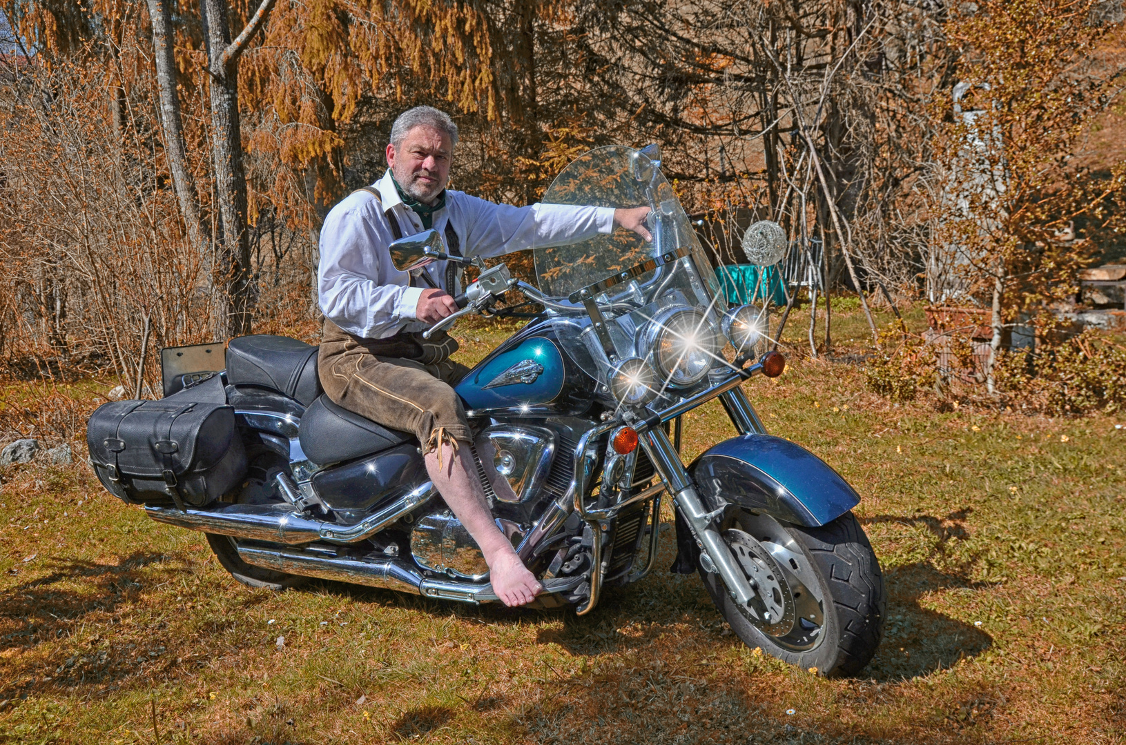 Bavarian Rider