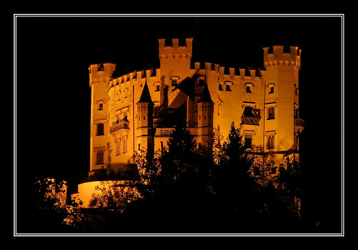 Bavarian Royal Castle - Hohenschwangau