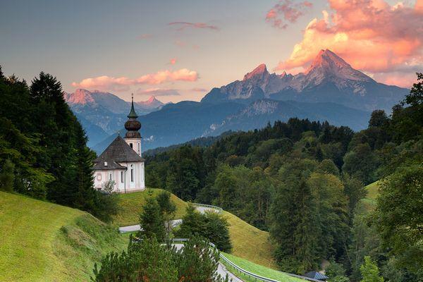 Bavarian sunrise dream