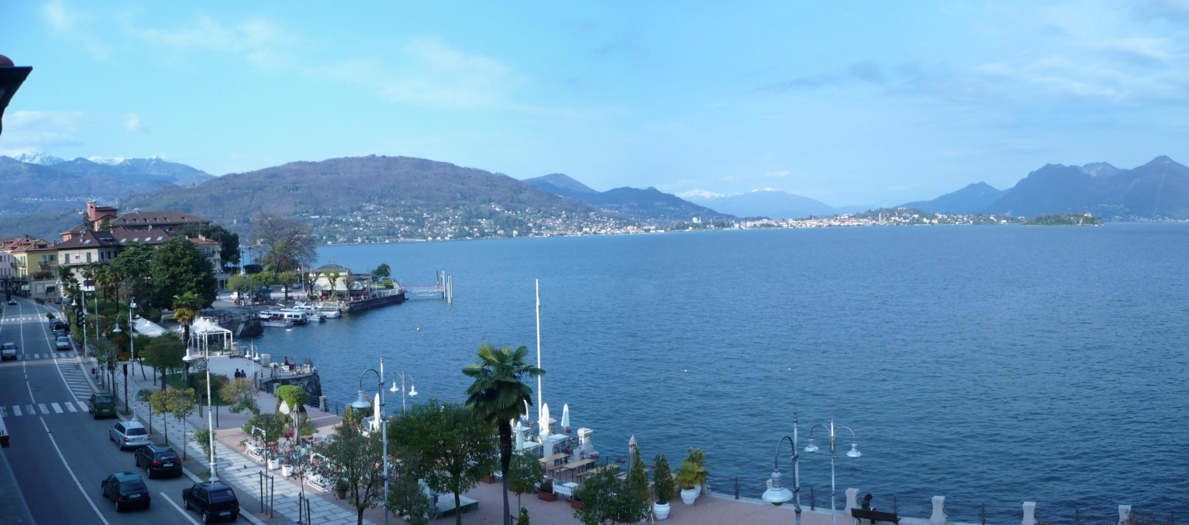 Baveno on lake Maggiore