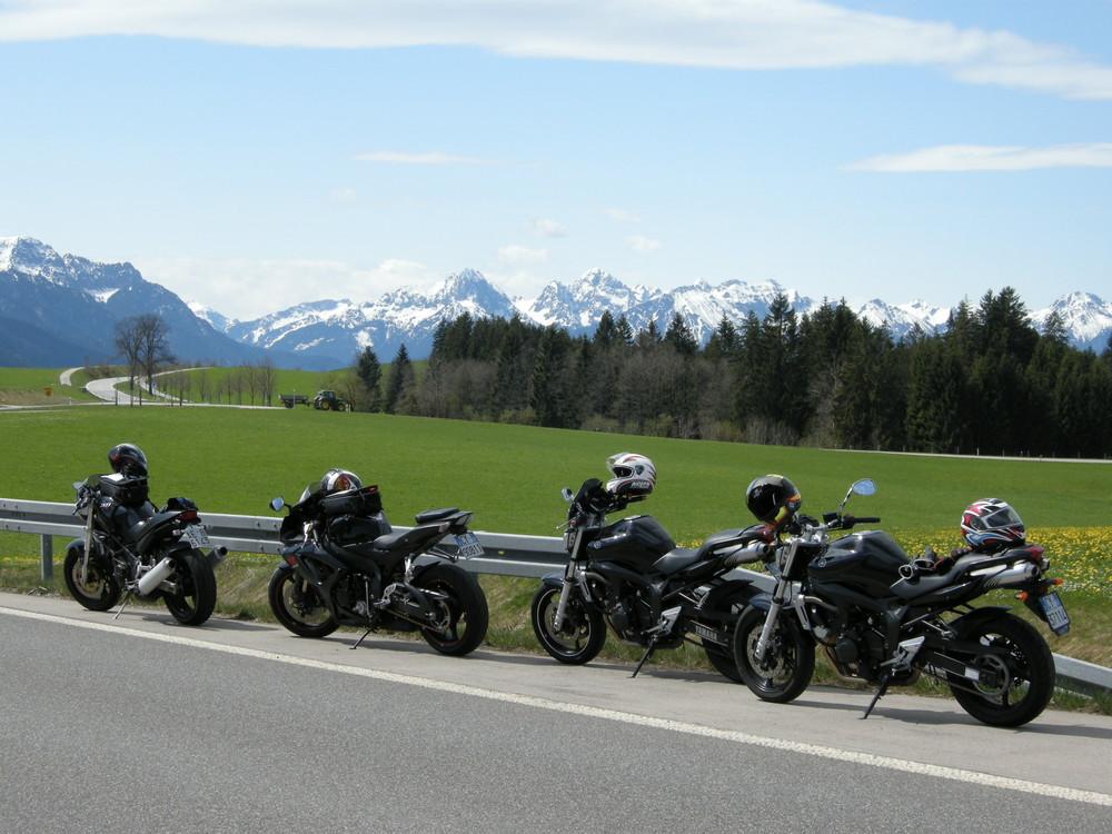 Baviera e moto
