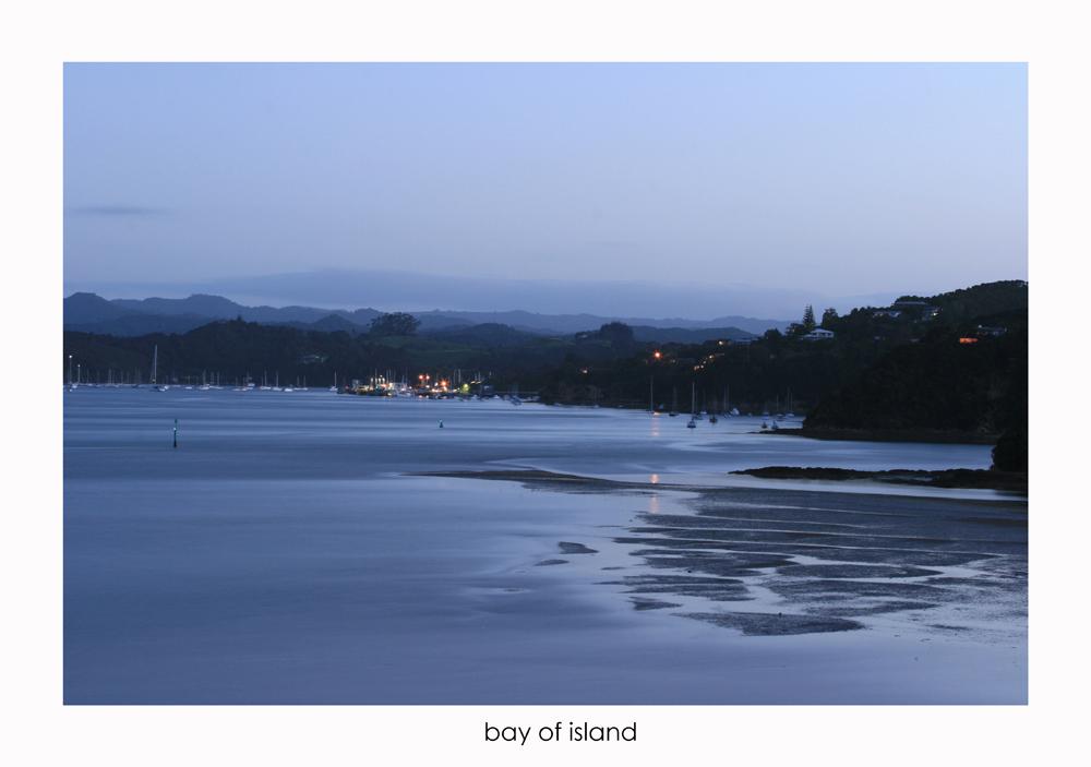 bay of island - new zealand