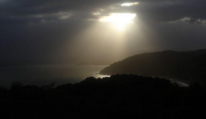 Bay of Islands morgens um 6 Uhr