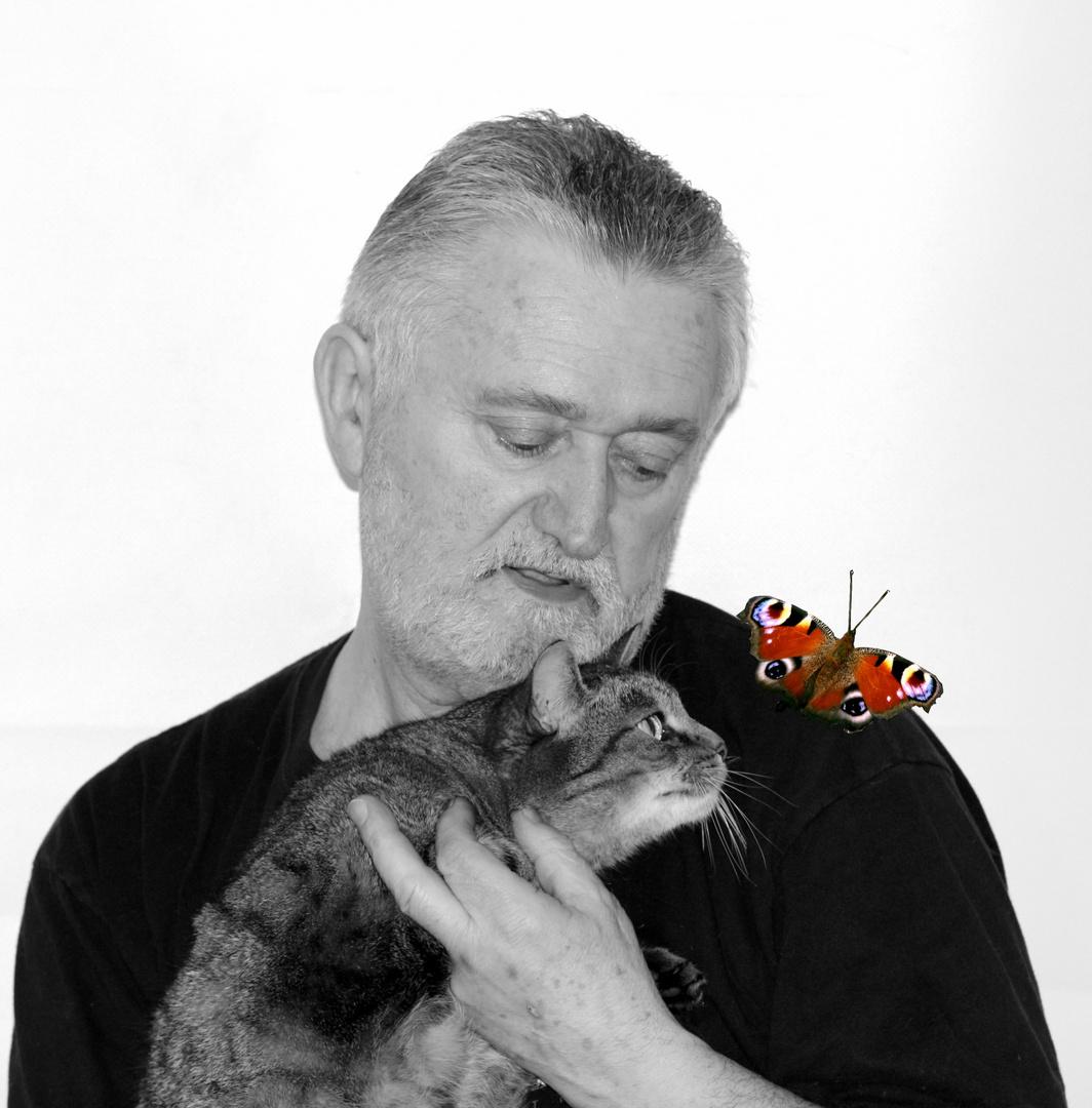 Baya Ray et le papillon