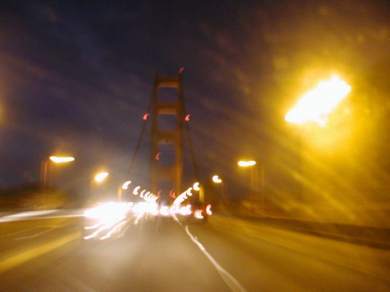 Baybridge at night