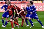 Bayer 04 gegen Schalke 04 1 : 0