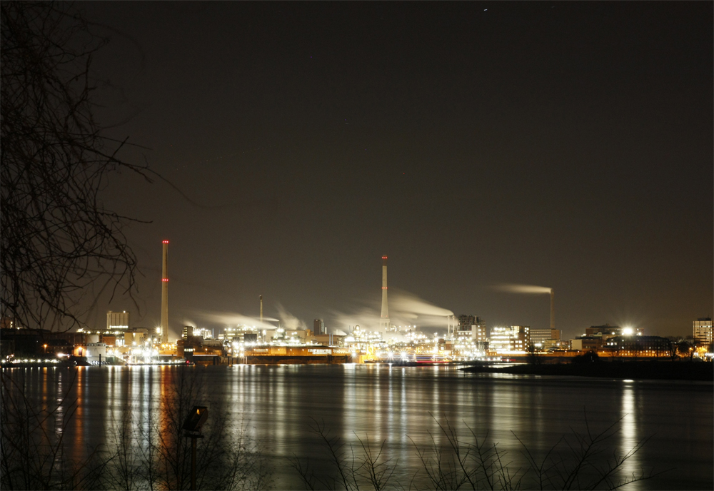 Bayer-Werk in Uerdingen