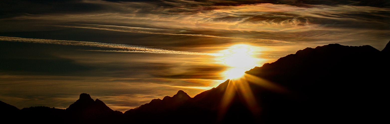 Bayerische Alpen - Sonnenaufgang