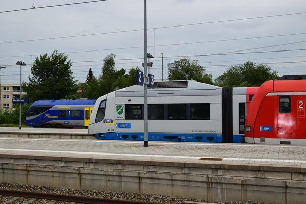 Bayerische Oberlandbahn (BOB).