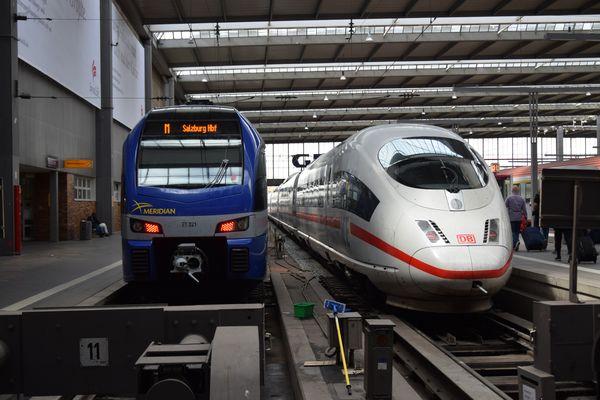 Bayerische Oberlandbahn Meridian