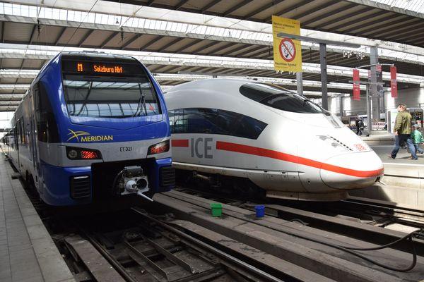 Bayerische Oberlandbahn Meridian2
