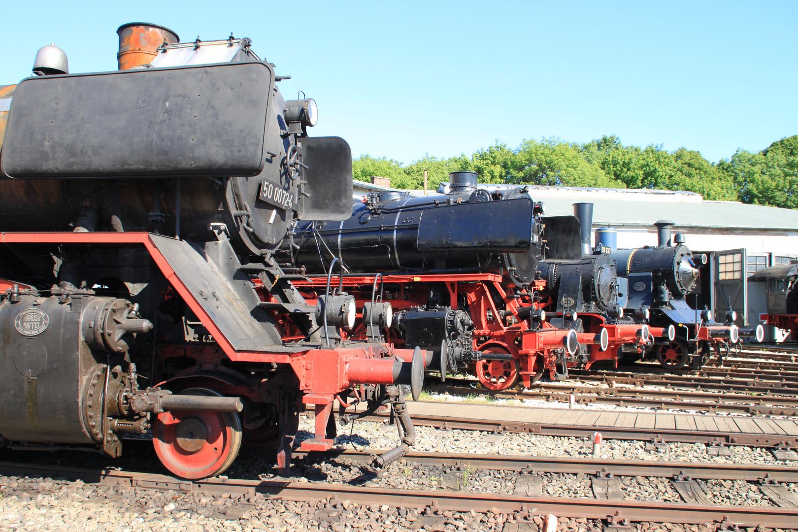 Bayerischen Eisenbahnmuseum Nördlingen