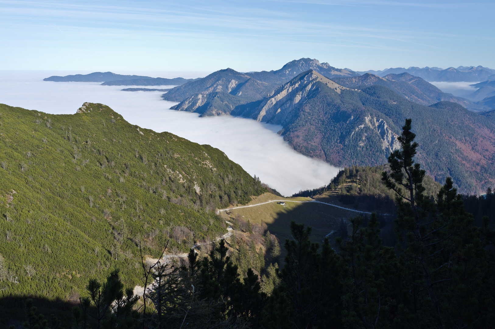 Bayern im Nebel...