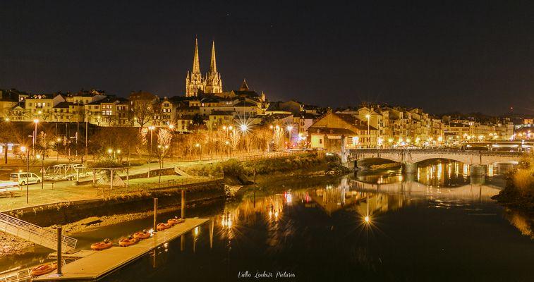 Bayonne by night