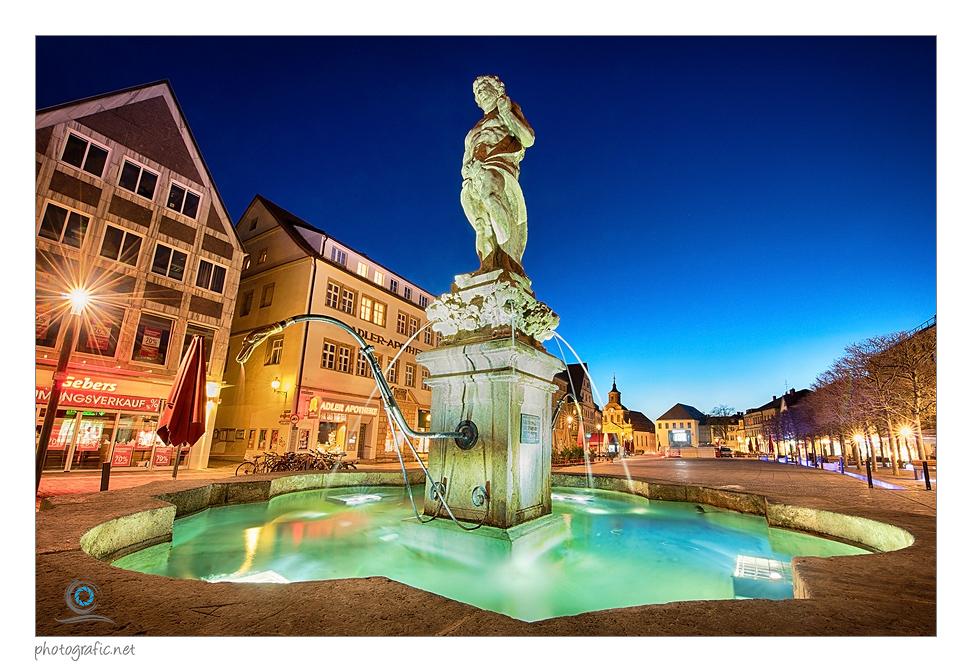 Bayreuth   Herkulesbrunnen II