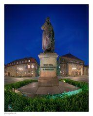 Bayreuth | Jean-Paul-Denkmal auf dem Jean-Paul-Platz