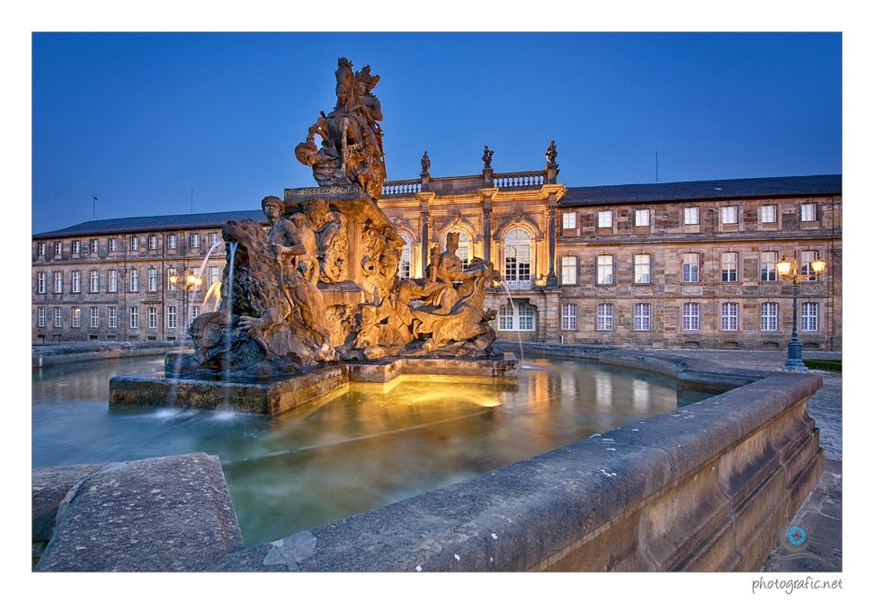 Bayreuth   Markgrafenbrunnen II