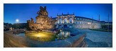 Bayreuth | Markgrafenbrunnen vor dem Neuen Schloss