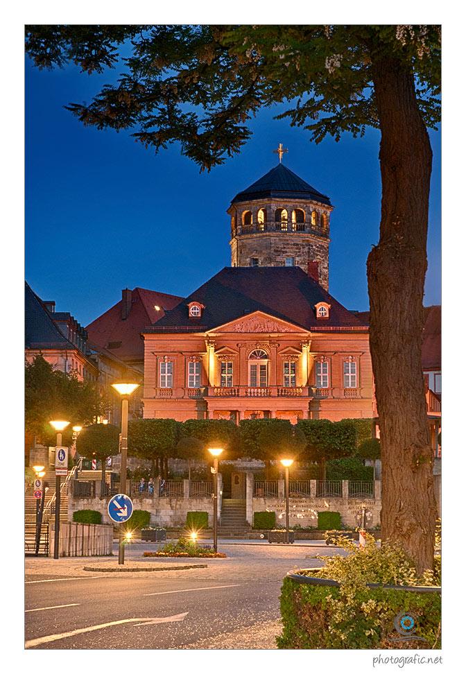 Bayreuth, Mit Blick auf den Schlossturm
