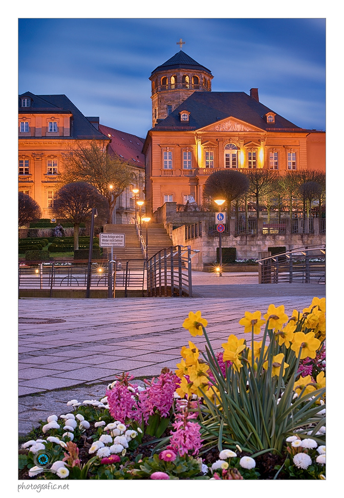 Bayreuth   Schlossterassen