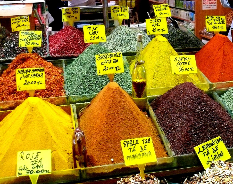 Bazar de las Especies - Estambul