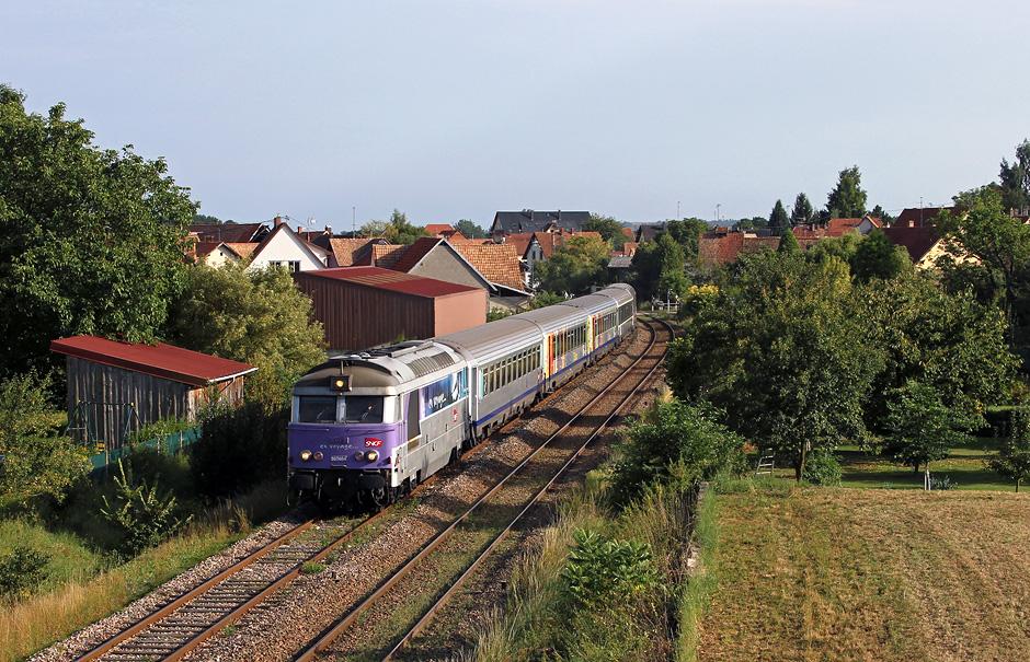 BB 67464 en voyage