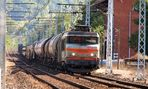 BB7200 et train de marchandises a Montpezat du Quercy