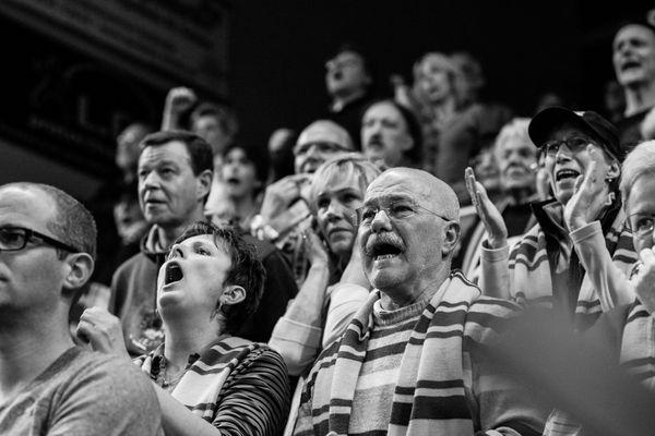 BBL: Enervie Arena - Phoenix Hagen vs. Eisbären Bremerhaven 16/18