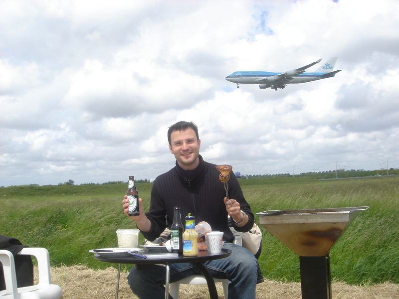 BBQ at Schiphol Airport