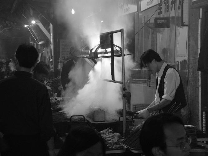 BBQ restaurant in Xi'an