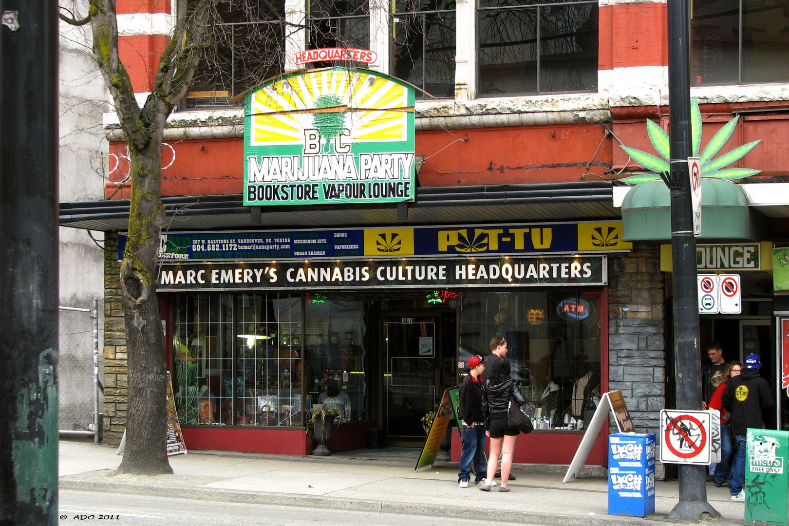 BC Marijuana Party Headquarters