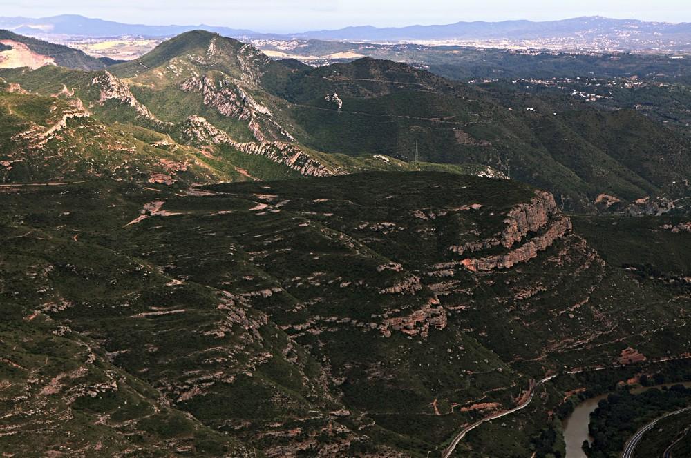 BCN VII :: Blick vom Montserrat