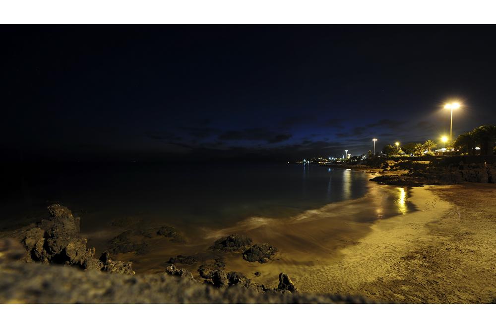 Beach at night.........