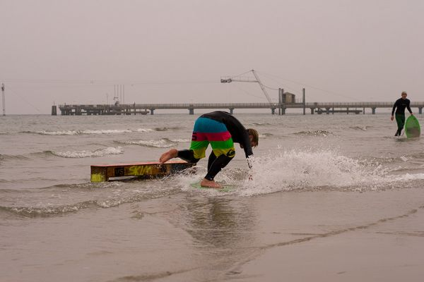 Beach Breakers Skimboard-Contest Scharbeutz 2