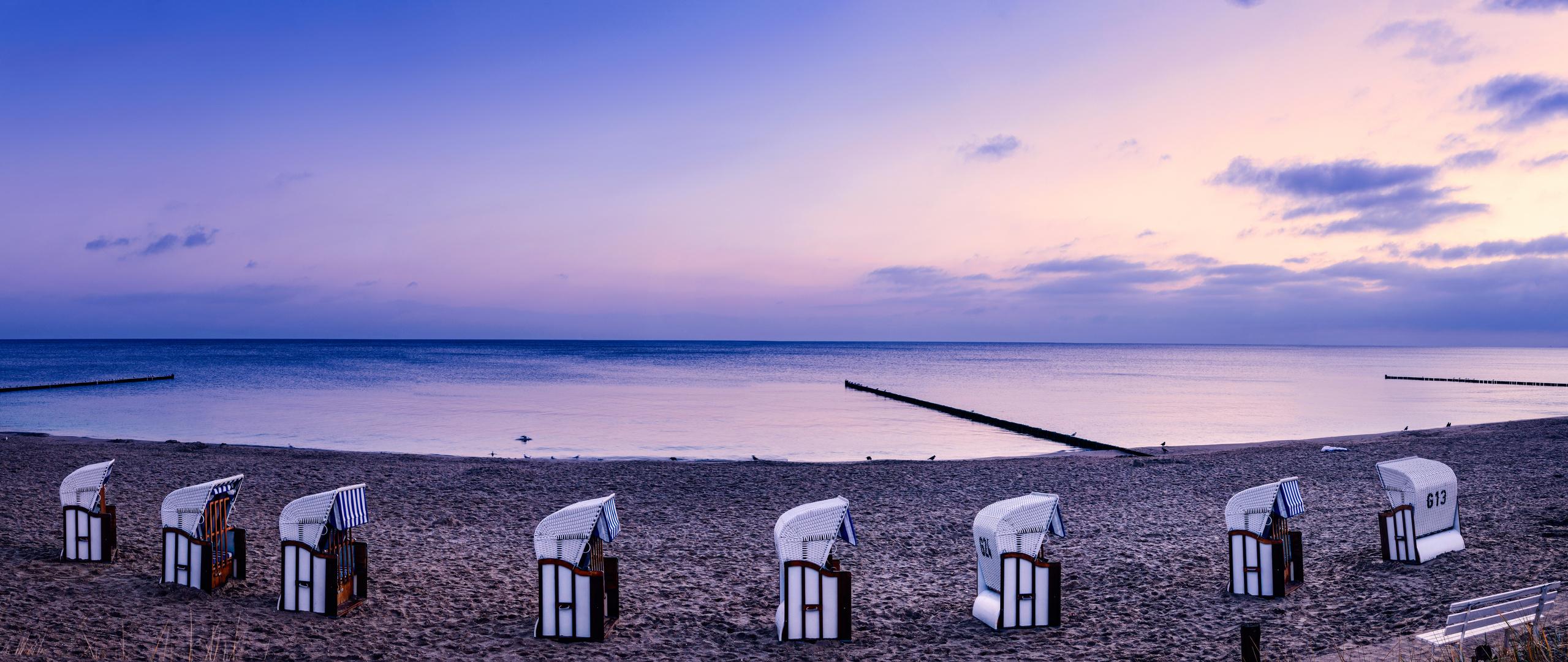 Beach Chairs on Usedom