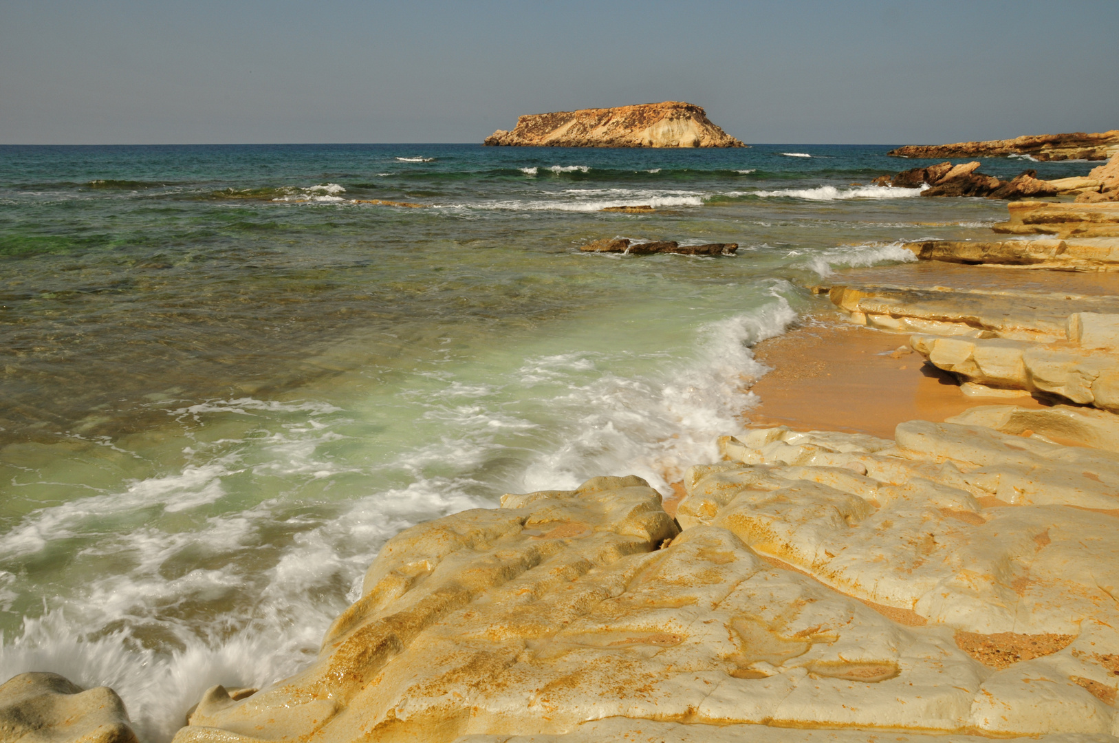 Beach in Agios Georgios