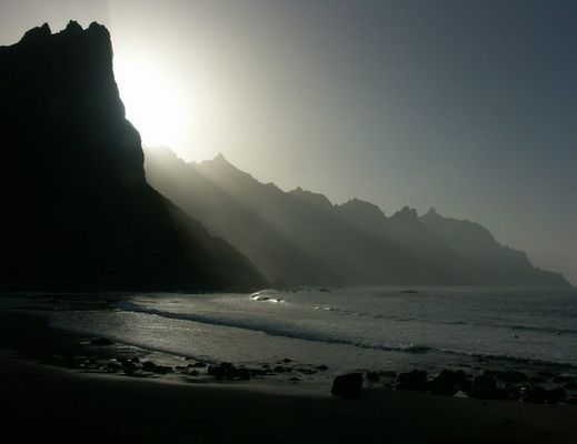 beach in the north of tenerife