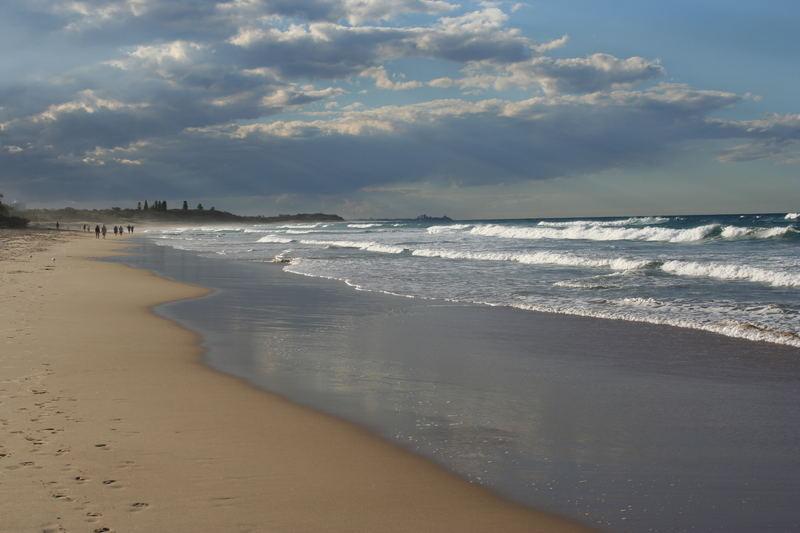 Beach near Brisbane, AUS