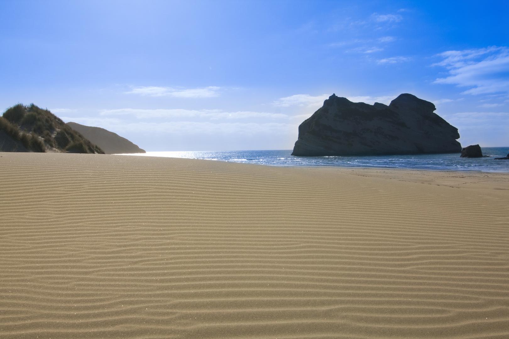Beach near Farewell Spit