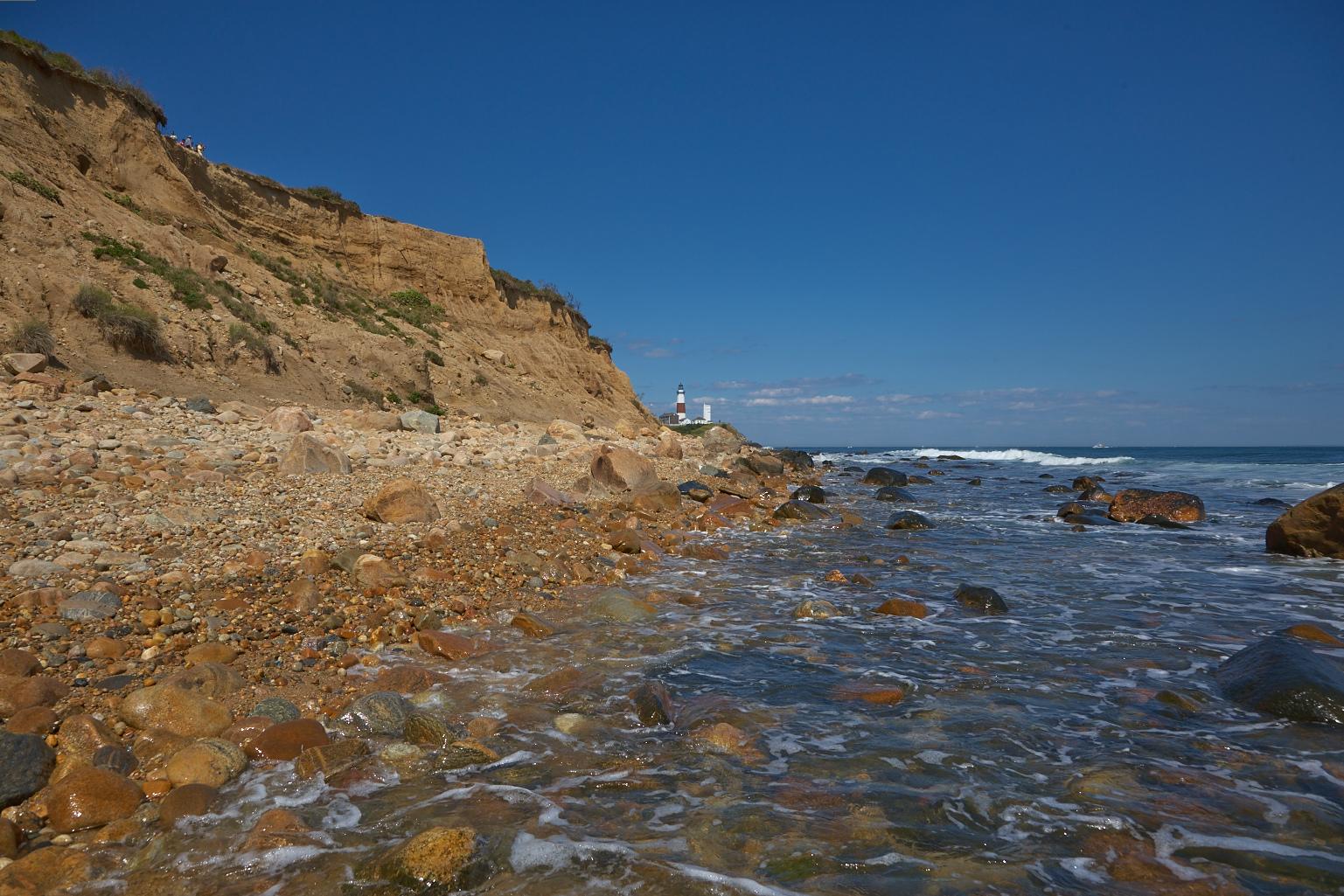 Beach, Rocks und Strandflöhe