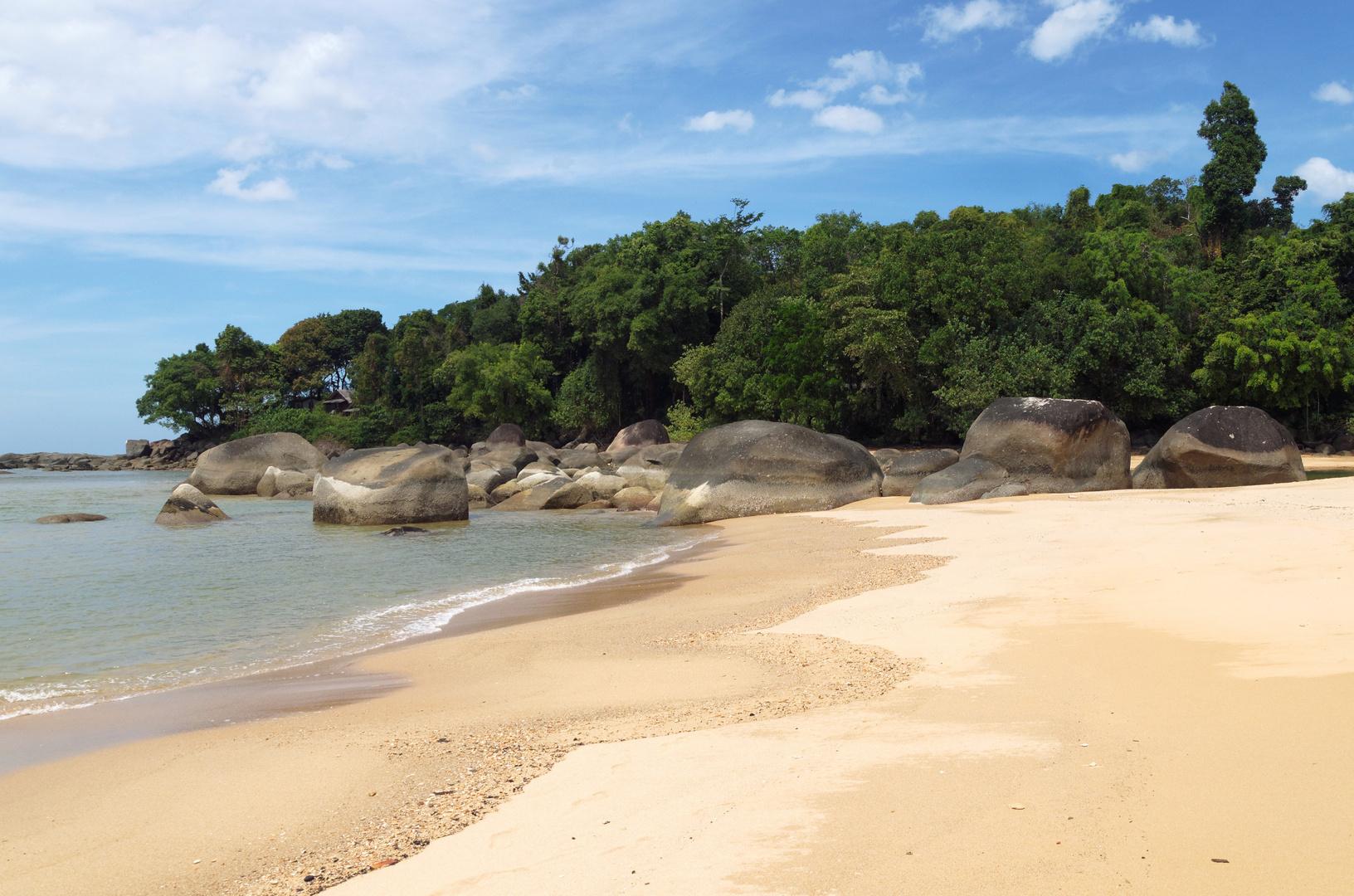 Beach südlich des Poseidon Beach, Khao Lak, Phang Nga, Thailand, Februar 2013
