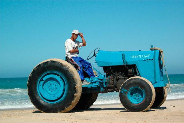 Beach Traktor