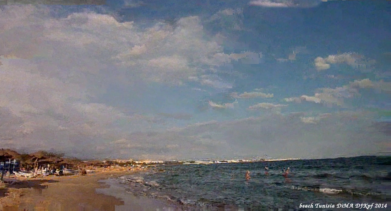 beach Tunisia