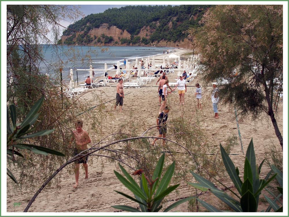 Beachvolley...