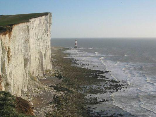 Beachy Head im Dezember 2003