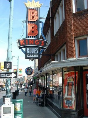 Beale Street in Memphis - Tennessee